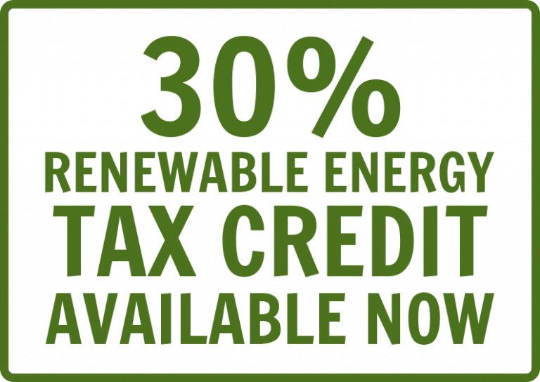 Rebates Tax Incentives Residential Renewable Energy Credit